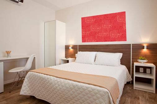 格里斯普拉亚音格酒店 - 弗洛里亚诺波利斯 - 睡房