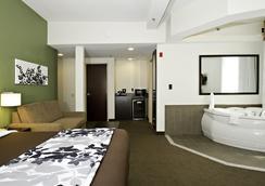 英纳哈波尔市中心斯利普套房酒店 - Baltimore - 睡房