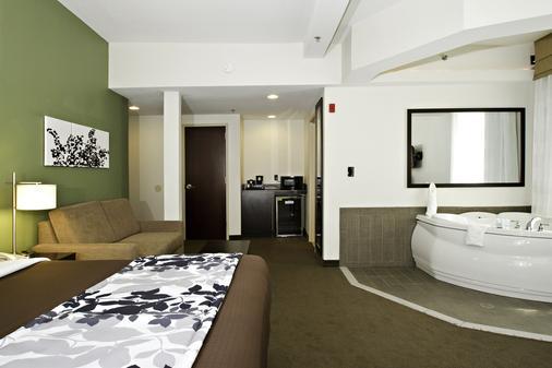 英纳哈波尔市中心司丽普旅馆&套房酒店 - Baltimore - 睡房
