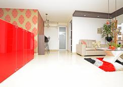 阿莫布拉多斯蒙泰罗萨公寓式酒店 - 佩雷拉 - 客厅