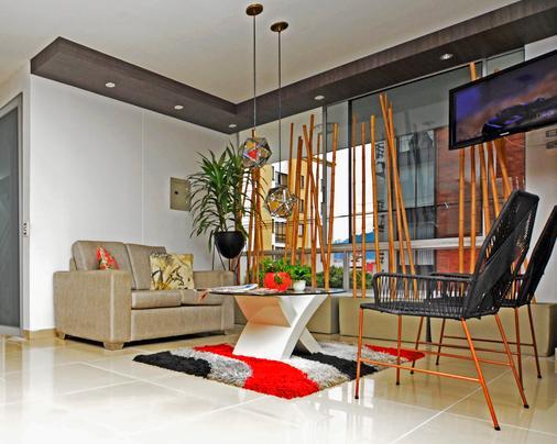 阿莫布拉多斯蒙泰罗萨公寓式酒店 - 佩雷拉 - 大厅