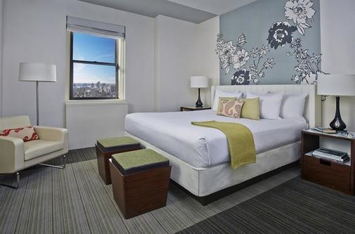 阿菲尼亚纽约市曼哈顿酒店 - 纽约 - 睡房