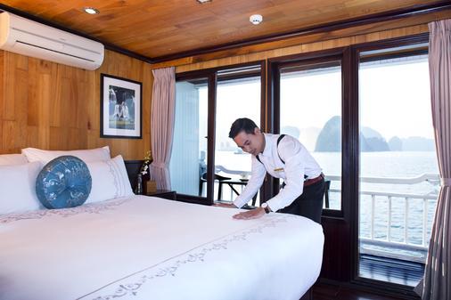 阿芙罗狄蒂邮轮酒店 - 下龙湾 - 睡房