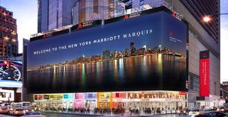 纽约马奎斯万豪酒店 - 纽约 - 建筑