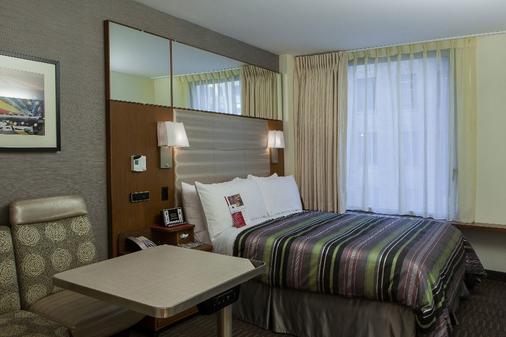 格兰德中央精品酒店 - 纽约 - 睡房