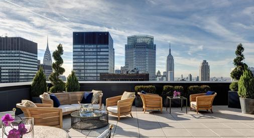 纽约皇宫大厦酒店 - 纽约 - 阳台