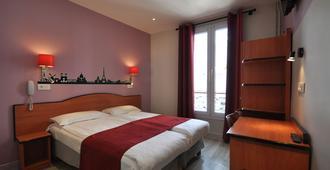 巴黎都灵大酒店 - 巴黎 - 睡房