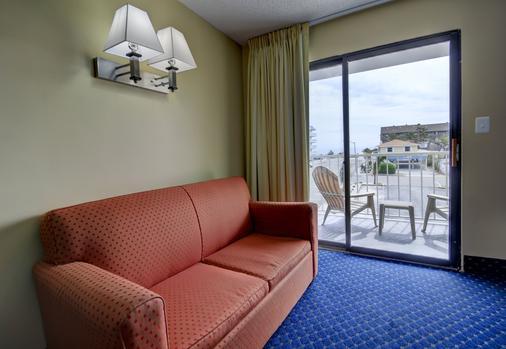 海岸棕榈树客栈及套房酒店 - 大洋城 - 客厅