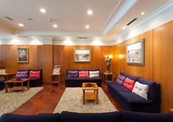康姆波斯特拉苏伊德酒店 - 圣地亚哥-德孔波斯特拉 - 休息厅