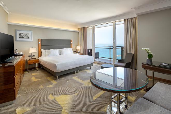 特拉维夫希尔顿酒店 - 特拉维夫 - 睡房