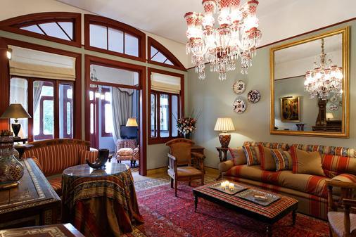 阿尔贝格酒店 - 贝鲁特 - 客厅