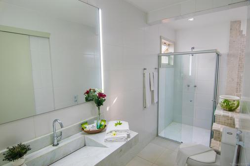 鲍萨达安罗马多马尔酒店 - 布希奥斯 - 浴室
