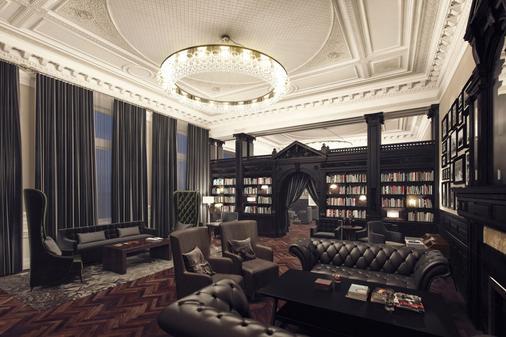 利物浦希尔顿逸林酒店 - 利物浦 - 休息厅