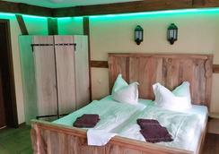 木屐制造者旅馆 - 伯格(施普雷瓦尔德) - 睡房