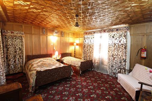新金花传统船屋 - 斯利那加 - 睡房