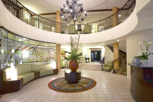 蒙特利尔/旧蒙特利尔万豪春季山丘套房酒店 - 蒙特利尔 - 大厅