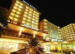 里维埃拉莱夫克拉斯温泉酒店 - 玫瑰港市 - 建筑