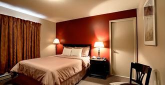 波拿巴汽车旅馆酒店 - 魁北克市 - 睡房
