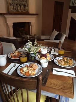 科里奥民宿酒店 - 圣米格尔-德阿连德 - 食物