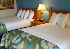 水族海滩酒店 - 默特尔比奇 - 睡房