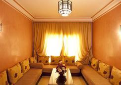 莫加多尔门扎公寓酒店 - 马拉喀什 - 休息厅