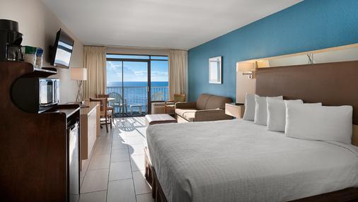 船长小屋度假酒店 - 默特尔比奇 - 睡房