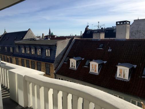 哥本哈根SP34酒店 - 哥本哈根 - 阳台