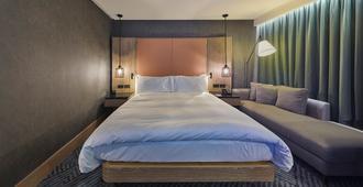 伦敦河畔希尔顿酒店 - 伦敦 - 睡房