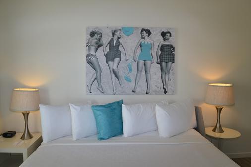 阿瓜阿北海滩村度假酒店 - 劳德代尔堡 - 睡房
