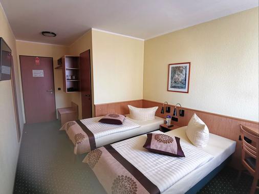 安格鲁 - 奎德林堡酒店 - 奎德林堡 - 睡房