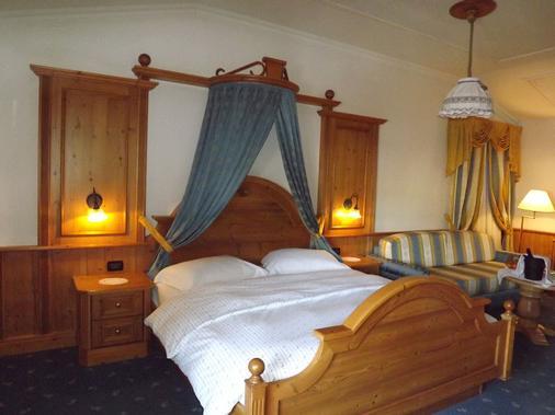 Hotel Relais Grünwald - 卡瓦莱塞 - 睡房