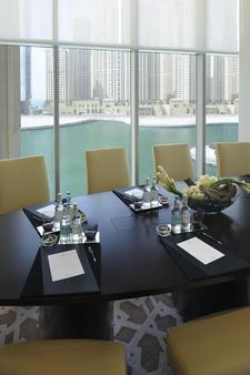 迪拜码头阿德里斯酒店 - 迪拜 - 会议室
