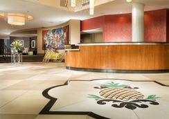 马克斯韦尔住宿菠萝酒店 - 西雅图 - 大厅