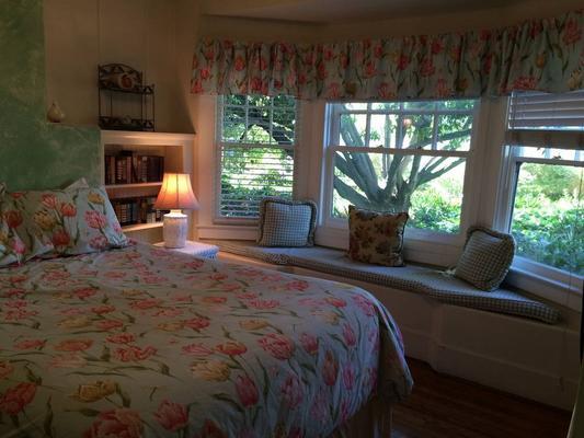 秘密花园别墅酒店 - 圣巴巴拉 - 睡房