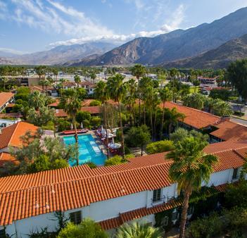 科隆尼棕榈树酒店 - Palm Springs - 户外景观