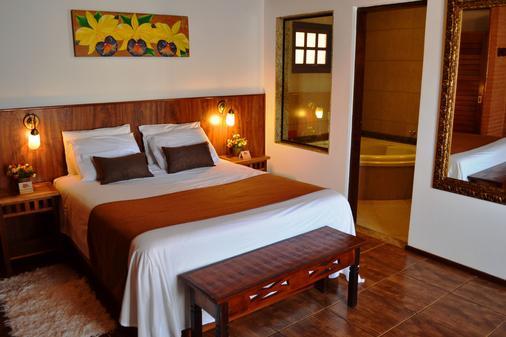 瑞坎多松霍斯旅馆 - 坎波斯杜若尔当 - 睡房