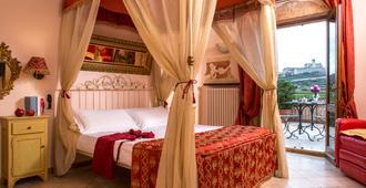 伊尔罗塞托酒店 - 阿西西 - 睡房