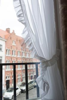 巴里希尔床和早餐旅馆 - 布鲁日 - 阳台