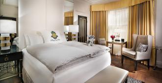 艾莉丝旧金山住宿菠萝酒店 - 旧金山 - 睡房