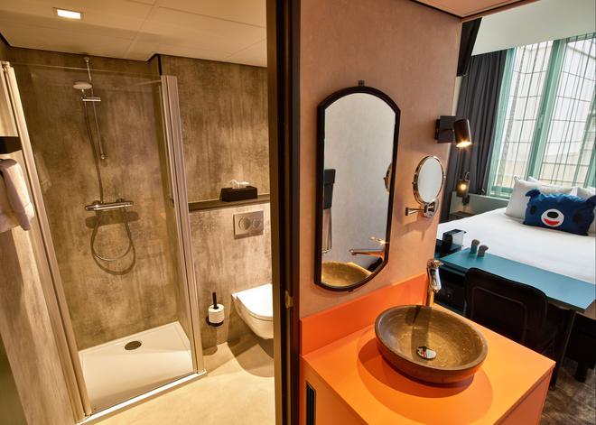 阿姆斯特丹剧院区罕布什尔酒店 - 阿姆斯特丹 - 浴室