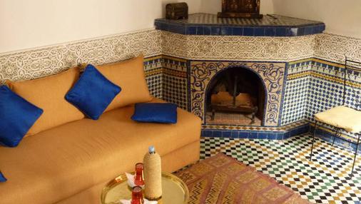 拉克里德菲丝摩洛哥传统庭院住宅 - 非斯 - 客厅