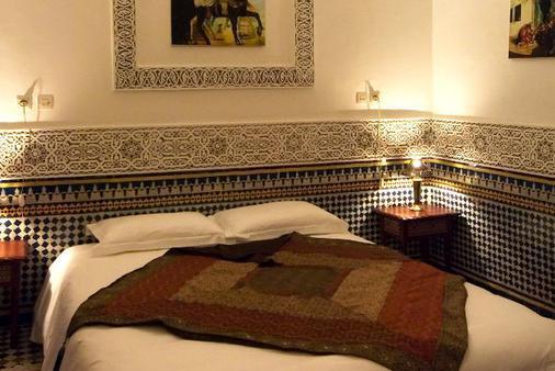 拉克里德菲丝摩洛哥传统庭院住宅 - 非斯 - 睡房