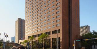 卡尔加里市中心万豪三角洲酒店 - 卡尔加里 - 建筑
