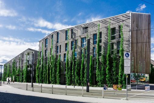 沃邦绿色城市酒店 - 弗莱堡 - 建筑