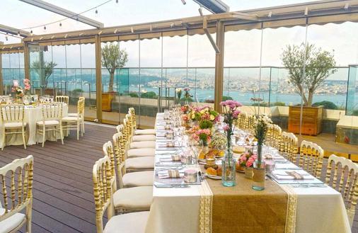 伊斯坦布尔cvk公园博斯普鲁斯酒店 - 伊斯坦布尔 - 宴会厅