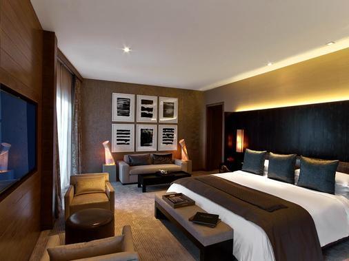 安瑟罗基凯萨宫套房旅馆 - 拉斯维加斯 - 睡房