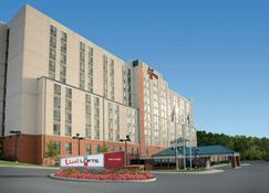 活跃酒店bwi 巴尔的摩华盛顿国际机场阁楼套房酒店 - 汉诺瓦 - 建筑