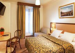 昆茨酒店 - 巴黎 - 睡房
