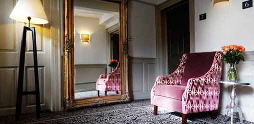 凡布吕之家酒店 - 牛津 - 客厅