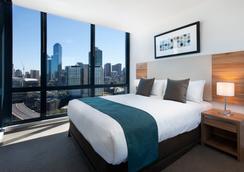 墨尔本短期住宿mp豪华公寓 - 墨尔本 - 睡房